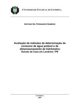 ESTUDO DE VIABIDADE TÉCNICA