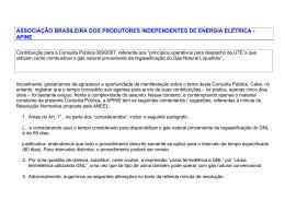 ASSOCIAÇÃO BRASILEIRA DOS PRODUTORES