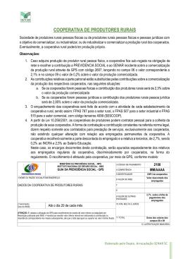 COOPERATIVA DE PRODUTORES RURAIS