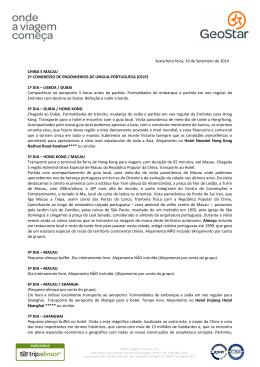 programa, condições e preços - Ordem dos Engenheiros Região