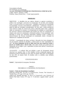 ESTUDOS ECONÔMICOS E POLÍTICOS DA