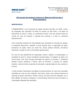 1. Regras e Parâmetros das Entidades Autoreguladoras [PDF