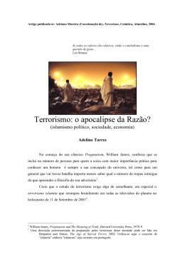 Adelino Torres-Terrorismo-O apocalipse da Razão