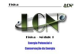 Energia Potencial (U). - gpcmb-ufma