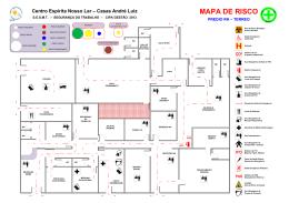 Visio-ULP - SESMT - MAPA DE RISCO - RH - DP