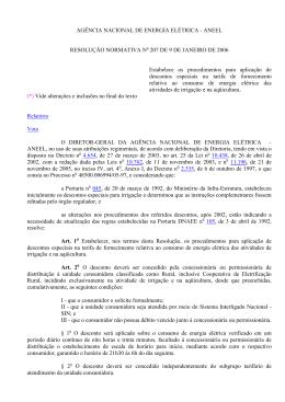 Resolução Normativa 207