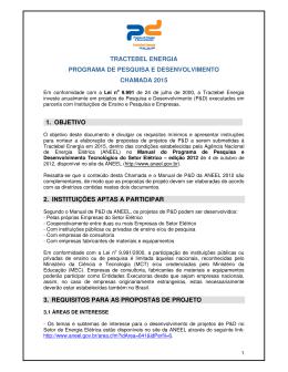 Programa de Pesquisa e Desenvolvimento