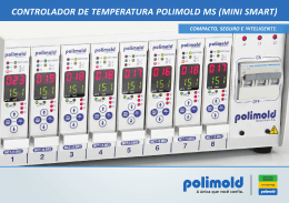 CONTROLADOR DE TEMPERATURA POLIMOLD MS (MINI SMART)