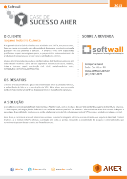 SUCESSO AKER - Aker Security Solutions