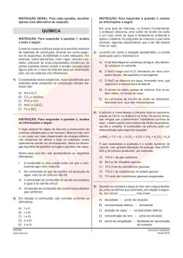 title: Prova de Química |Vestibular PUCRS 2016/1