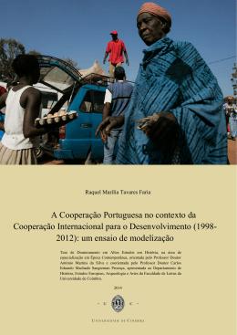 A Cooperação Portuguesa no contexto da