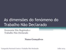 Nuno Gonçalves, Membro do Observatório de Economia e Gestão