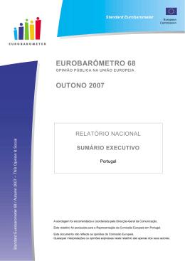 EUROBARÓMETRO 68