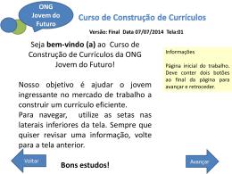 Versão: Final Data 07/07/2014 Tela:01