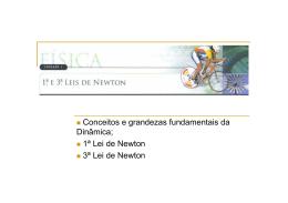 1ª e 3ª Lei de Newton - Professor Clayton Palma