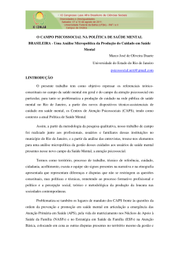 Marco José de Oliveira Duarte - XI Congresso Luso Afro Brasileiro
