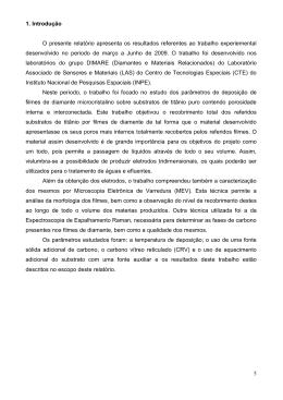 Relatório Ti usando fonte adicional de carbono CRV - mtc