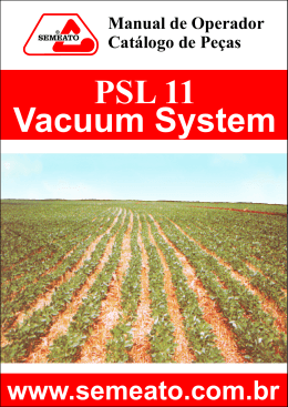 psl11 vacuum system