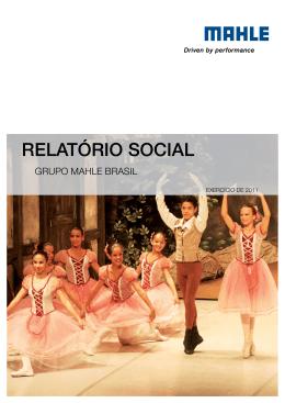 Relatório Social MAHLE 2012