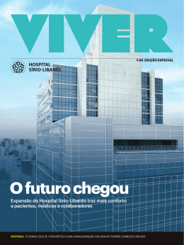 Revista Viver #8 - Hospital Sírio
