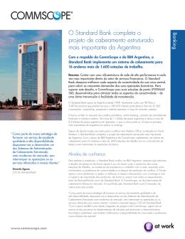 O Standard Bank completa o projeto de