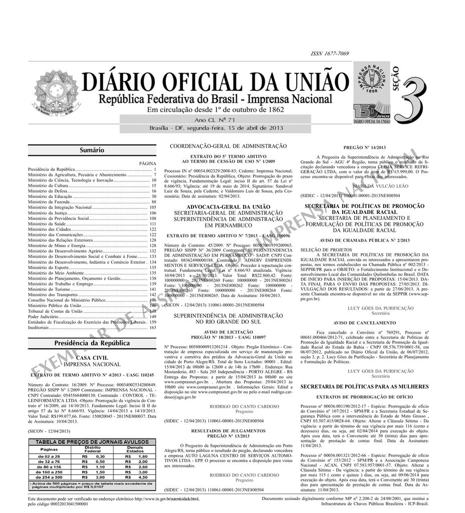 e23d39c21 exemplar de assinante da imprensa nacional