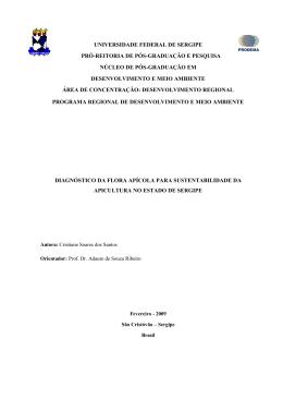 universidade federal de sergipe pró-reitoria de pós