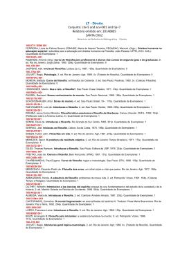 Bibliografia do Curso de Direito - Universidade Estadual do Centro