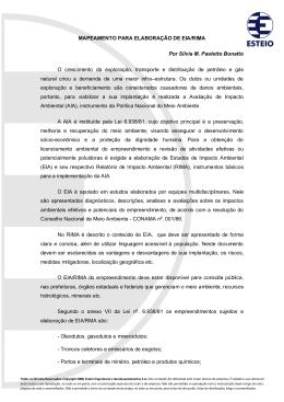 770-0907-01-Mapeamento para elaboração de EIARIMA