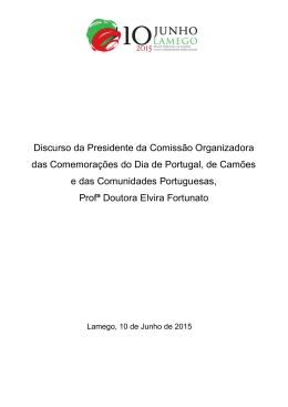 Discurso 10 de Junho 2015 Lamego