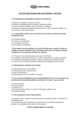 Gabarito - Verbo Jurídico
