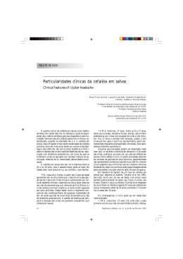 Full text  - Sociedade Brasileira de Cefaleia