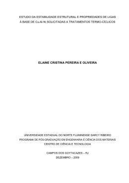 Estudo da estabilidade estrutural e propriedades de ligas à