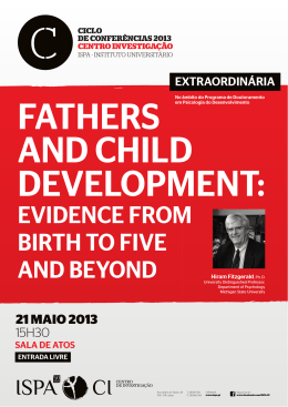 EVIDENCE FROM BIRTH TO FIVE AND BEYOND