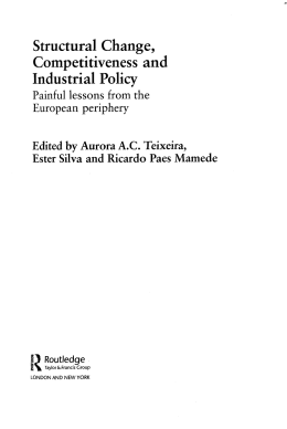 Structural Change, Competitiveness and Industrial Policy