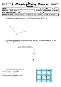 2. Utilizando processo geométrico, encont