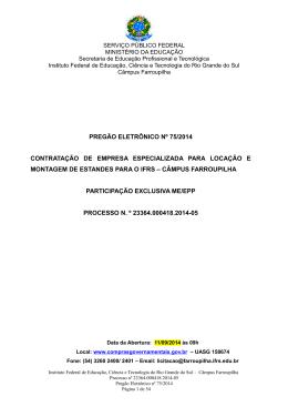 Edital 75/2014