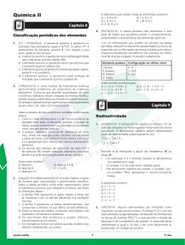 Química II - Organização Educacional Farias Brito