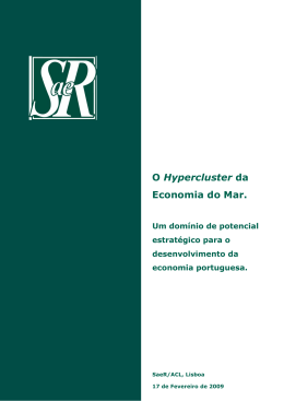 O Hypercluster da Economia do Mar.