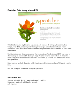 Pentaho Data Integration (PDI)