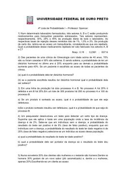 Lista 4 indep e Bayes