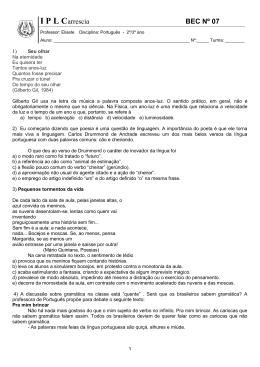 I P L Carrescia BEC Nº 07