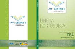 Língua Portuguesa - Caderno Teoria e Prática 4