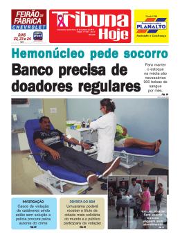 CAPA QQ 26 20.pmd - Jornal Tribuna Hoje