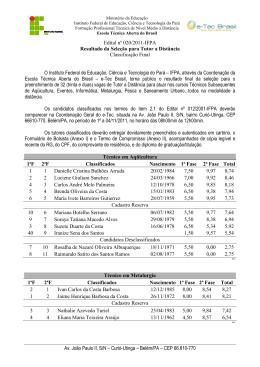 Edital nº 020/2011-IFPA