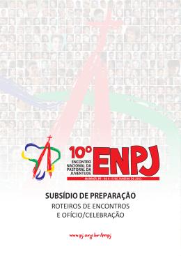Subsídio de preparação para o 10º ENPJ