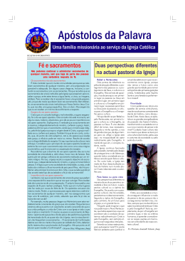 jornal-2009-1 - Apostolos da Palavra