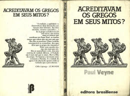 acreditavam os gregos em seus mitos?