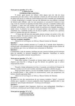 Provas Anteriores (Sargento - Brás Cubas