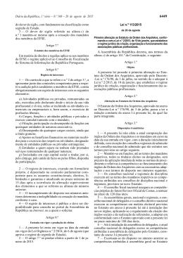 Lei n.º 113/2015 - Ordem dos Arquitectos